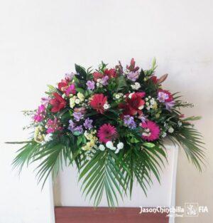 ofrenda funebre