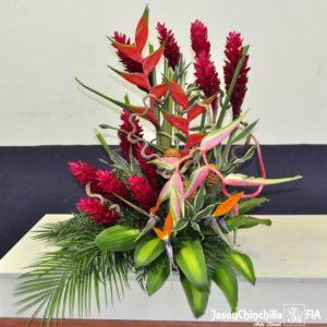 Flores para podium