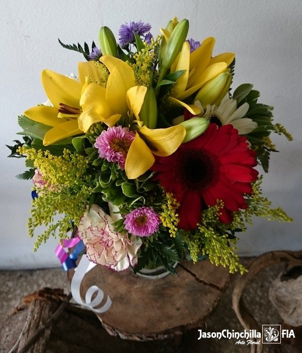 florero variado