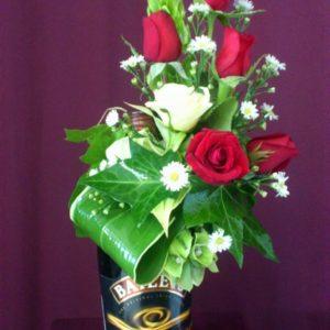 Rosas con baileys