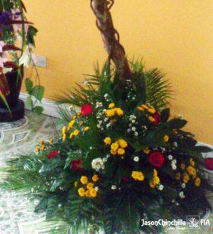 arbol con flores