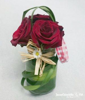 Diseño vintage con rosas