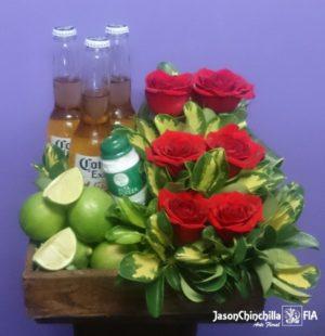 Rosas y cervezas