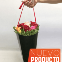 cono de flores