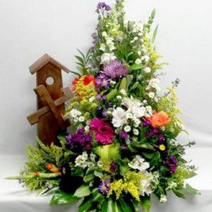 Molino flores variadas